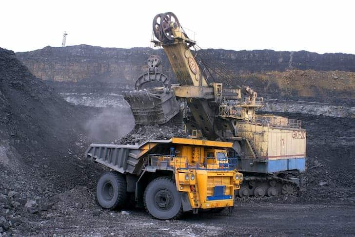 industry-dumper-mining-minerals-coal