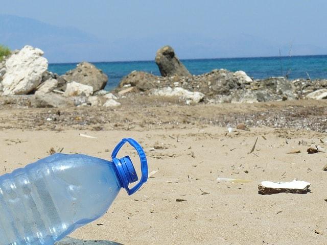 plastic-bottle-bottle-beach-sea