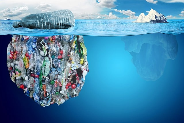 pollution-plastic-iceberg