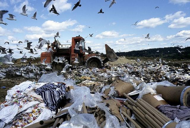 Landfill in Danbury Connecticut