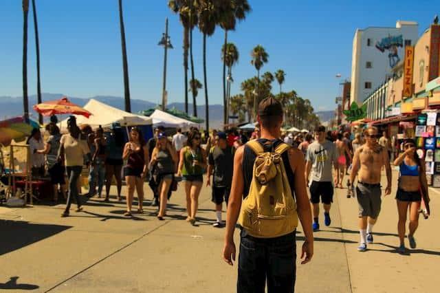 man-people-backpack-crowd-male-boulevard