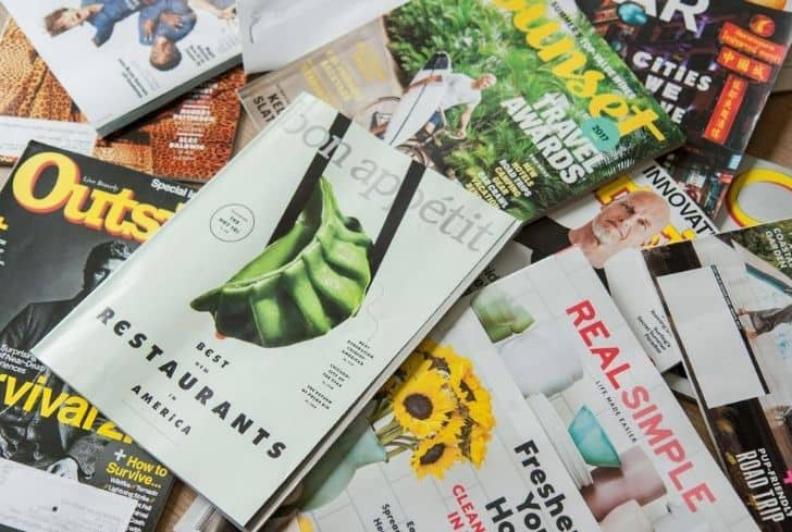 pile-of-old-magazines