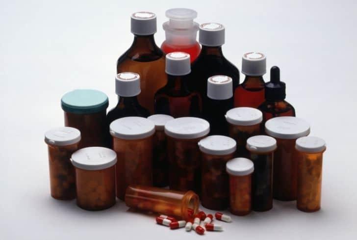 medicine-bottles